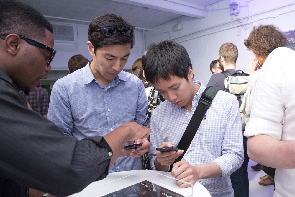 Attendees get up close and personal with the new BlackBerry 10