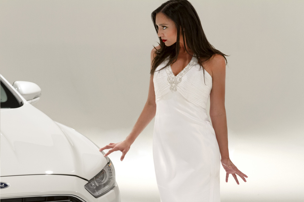 Natalie Pero proves angry  can  be sexy, just like the new Ford Fusion