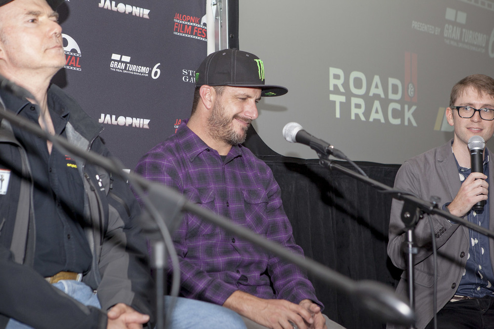 "Rally driver and ""hoonimus maximus"" Ken Block discusses the challenges of creating viral videos for his Gymkhana series"