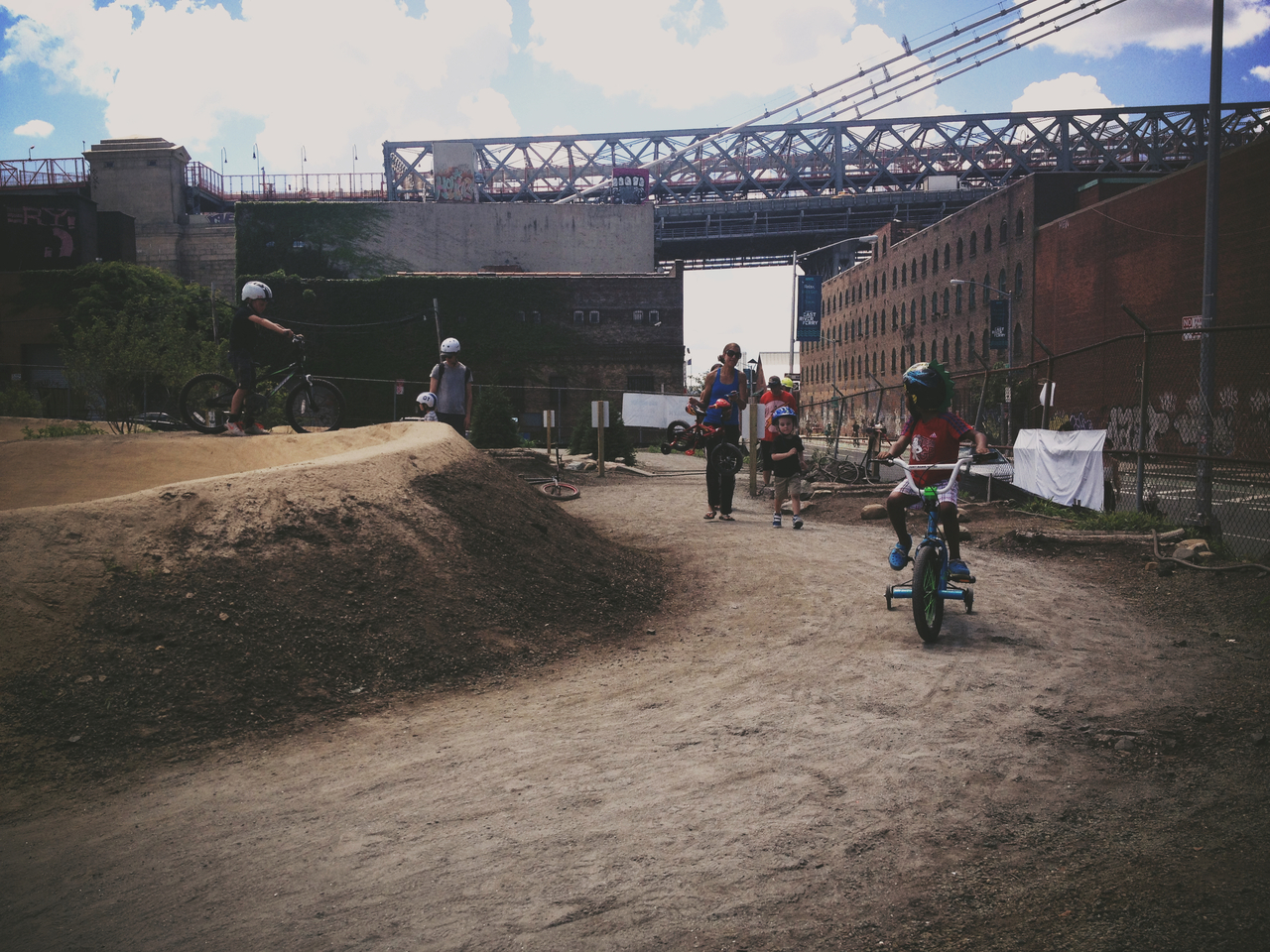 The Future the BMXer - #pepper #bikers #bikes #bmx #dirt #peppersearching #bikeculture @KitCamApp #kitcam #vignette #brooklyn