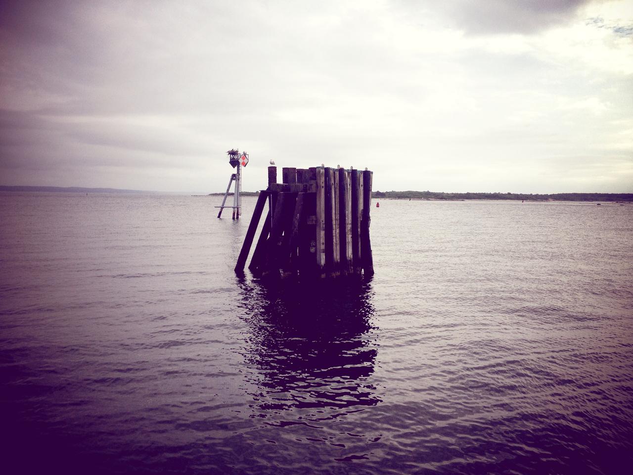 Dock Off #peppersearching #pepper #photos #water #sea #ocean #mv #boat