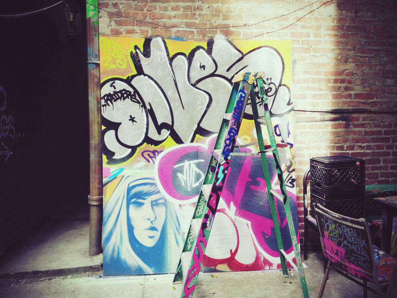 Mural @ Tuff City 3 #peppersearching #pepper #photos #graffiti #spraypaint #nyc