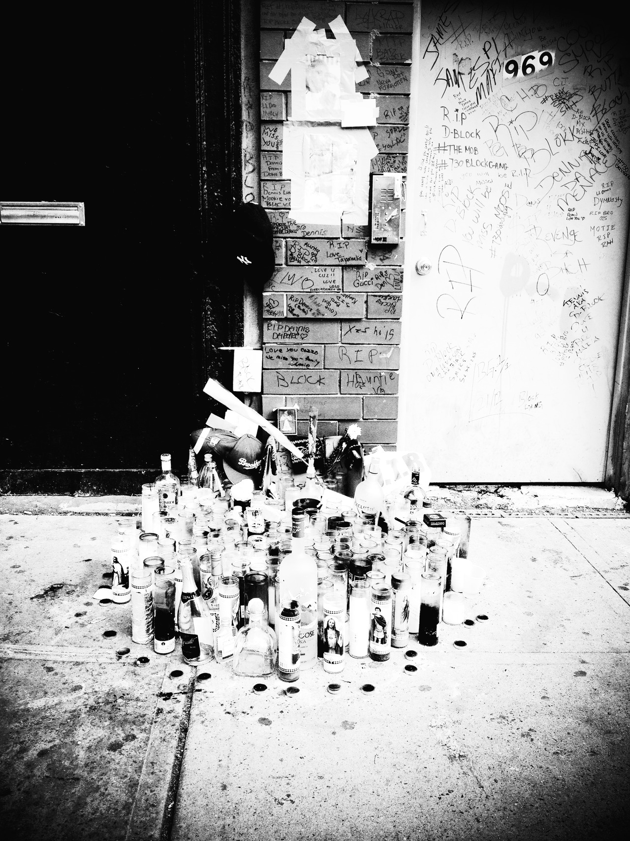 Gone Home Too Soon B/w #peppersearching #pepper #photos #youthviolence #guns #youth