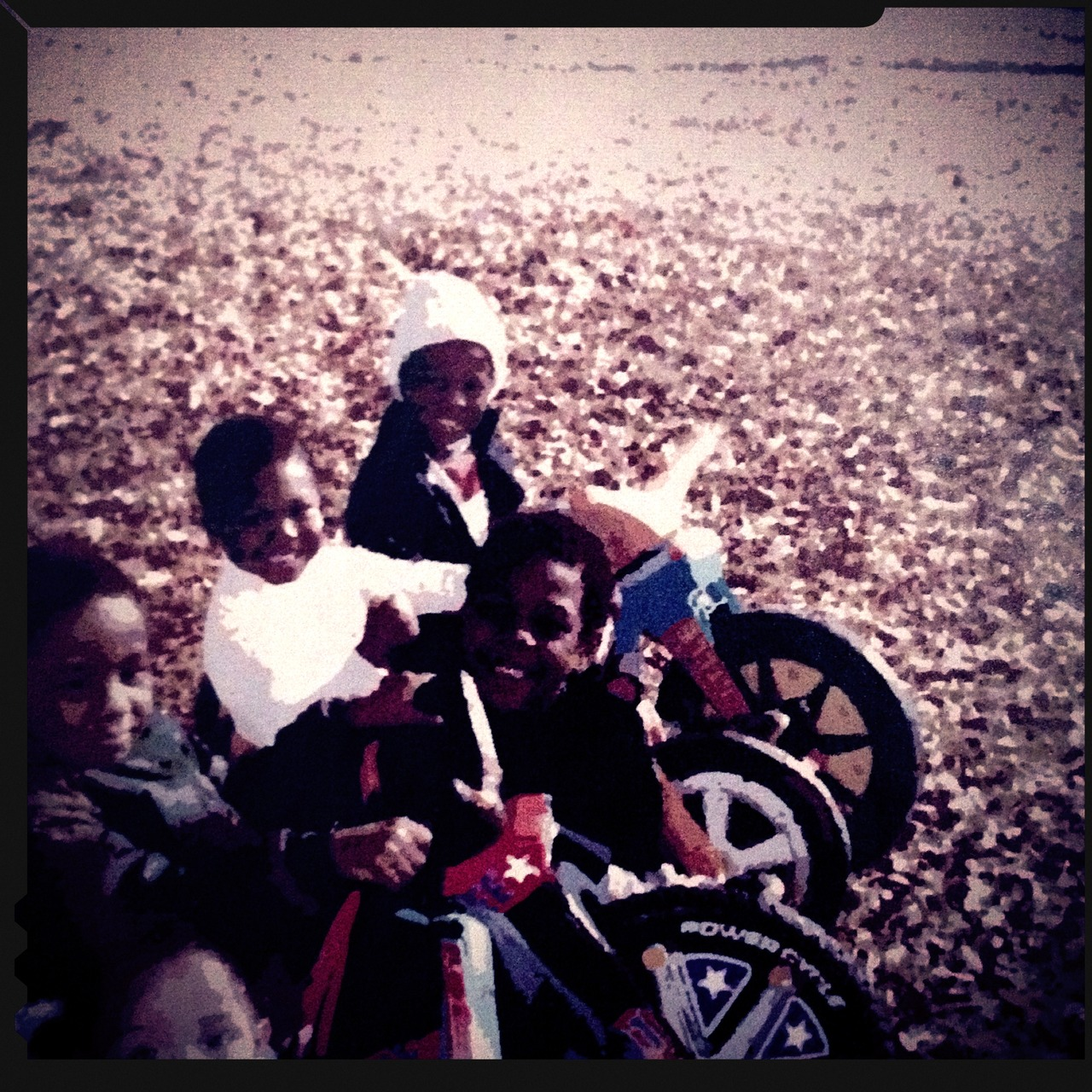 The Big Wheel Crew; Circa 1986 - #pepper #peppersearching #adrianfranks #fearless