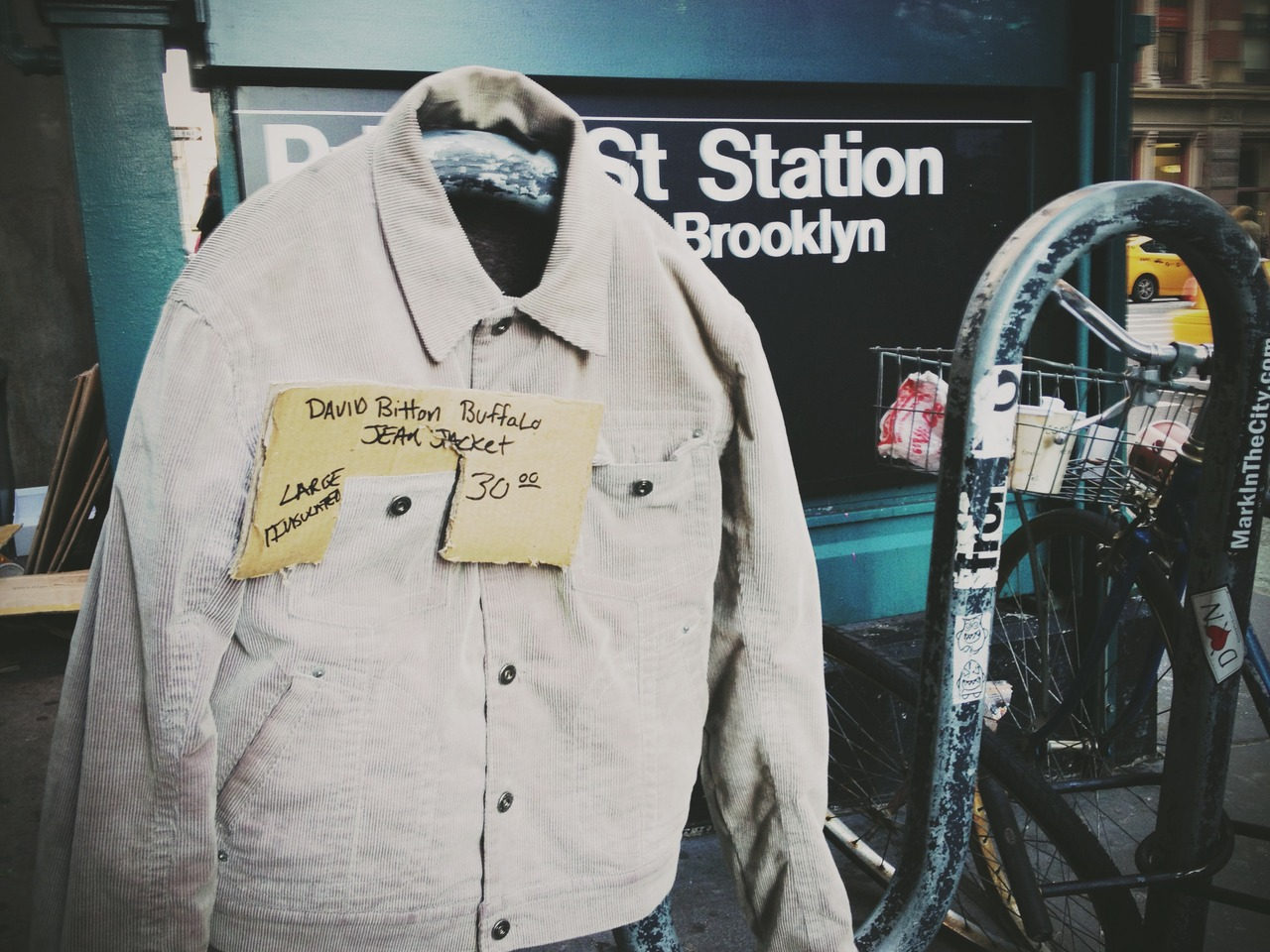 For Sale - #peppersearching #pepper #photos #bike #denim #subway