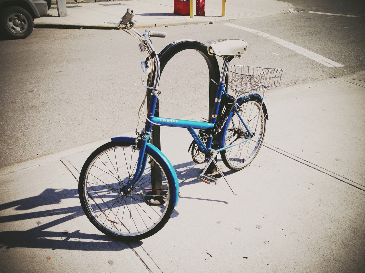Would You Like To Ride #peppersearching #pepper #photos #bike #rack #street