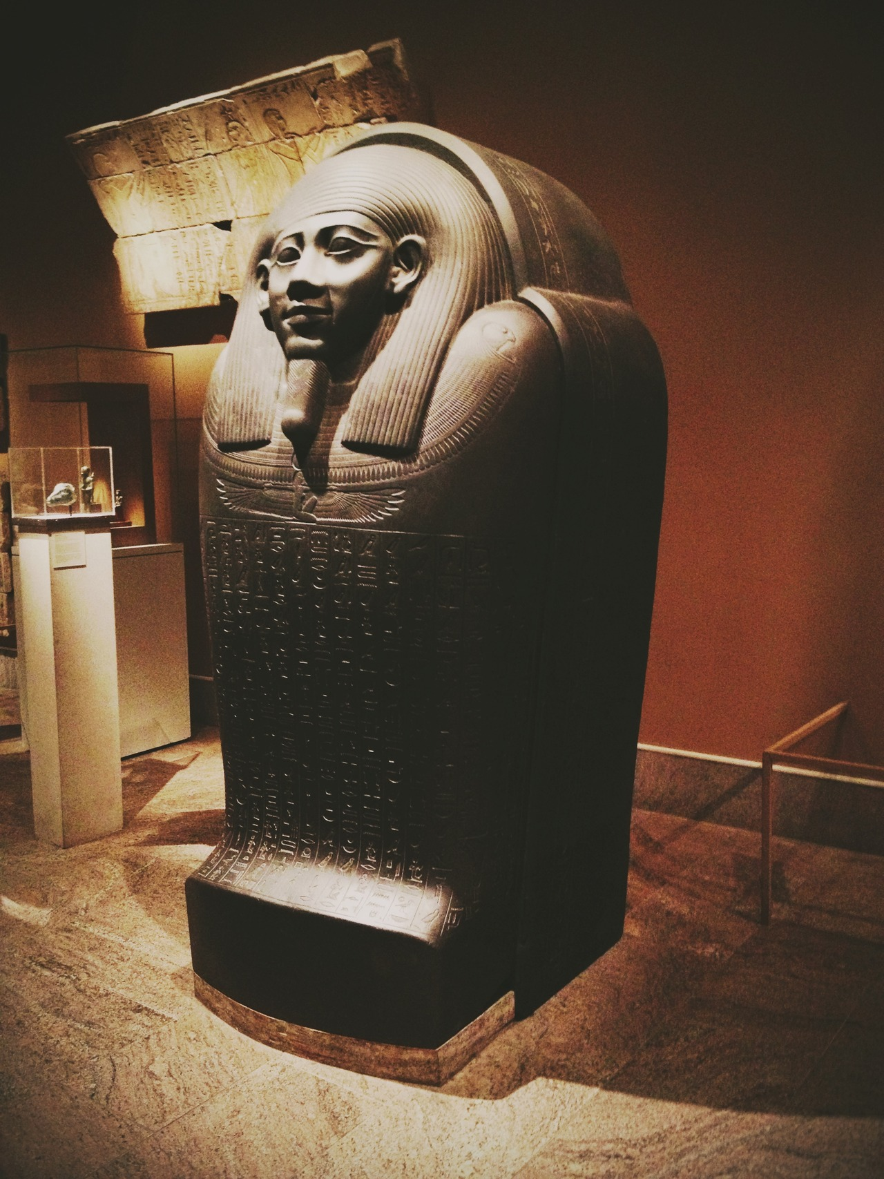 Sarcophagus at The MET #peppersearching #pepper #photos #sarcophagus #met