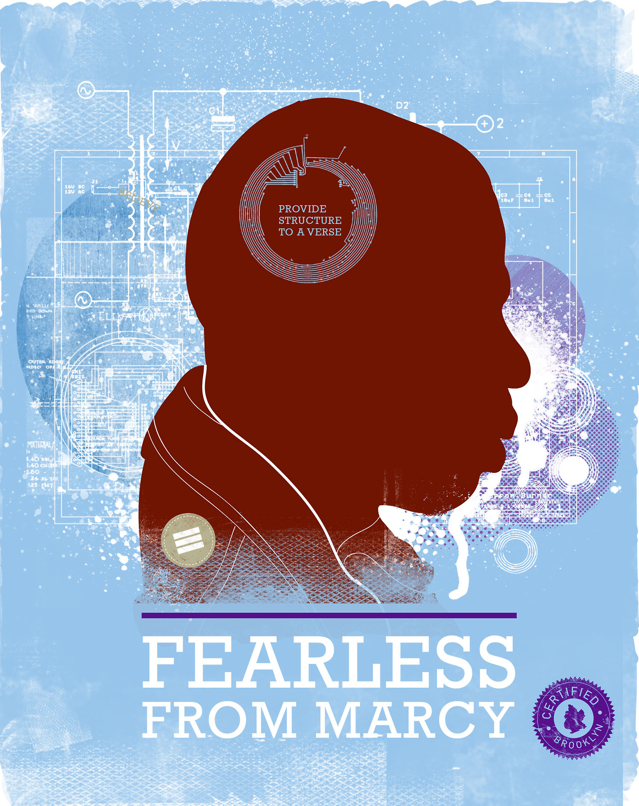 Fearless From Marcy by Adrian Franks @afranks3 - #peppersearcing #pepper #fearless #poster #blackhistory #jay-z