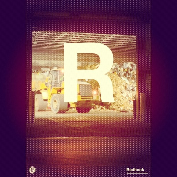 """R"" for Rubbish - #peppersearcing #pepper #type #redhook #typography"