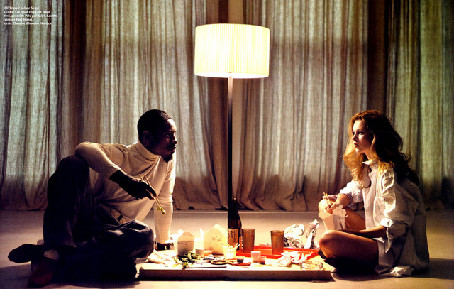 iwywaw: Kate Moss and Andre 3000