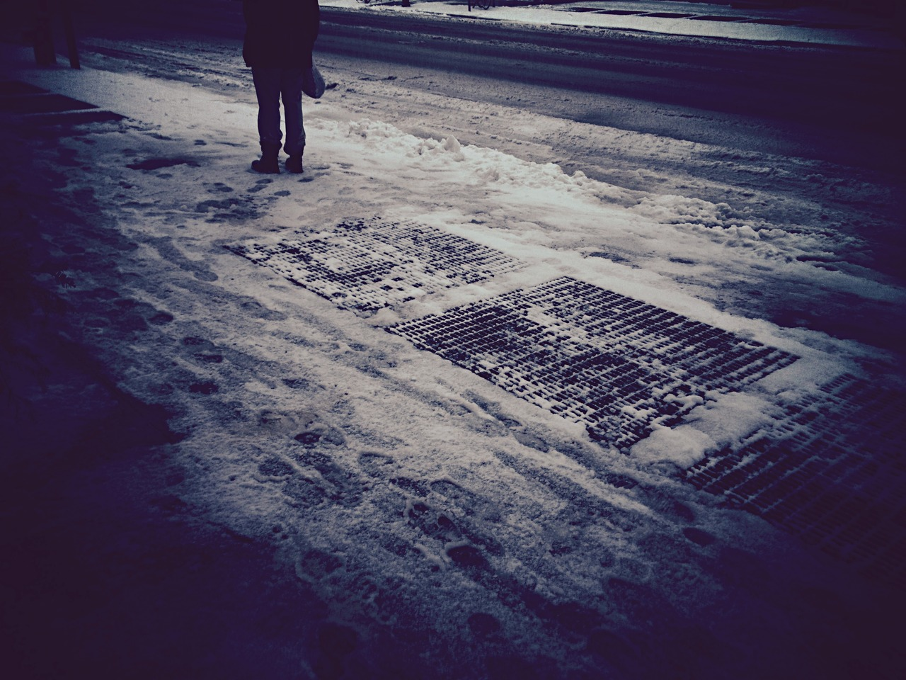 Dead Snow - #peppersearching #pepper #photos #snow #cold #lady