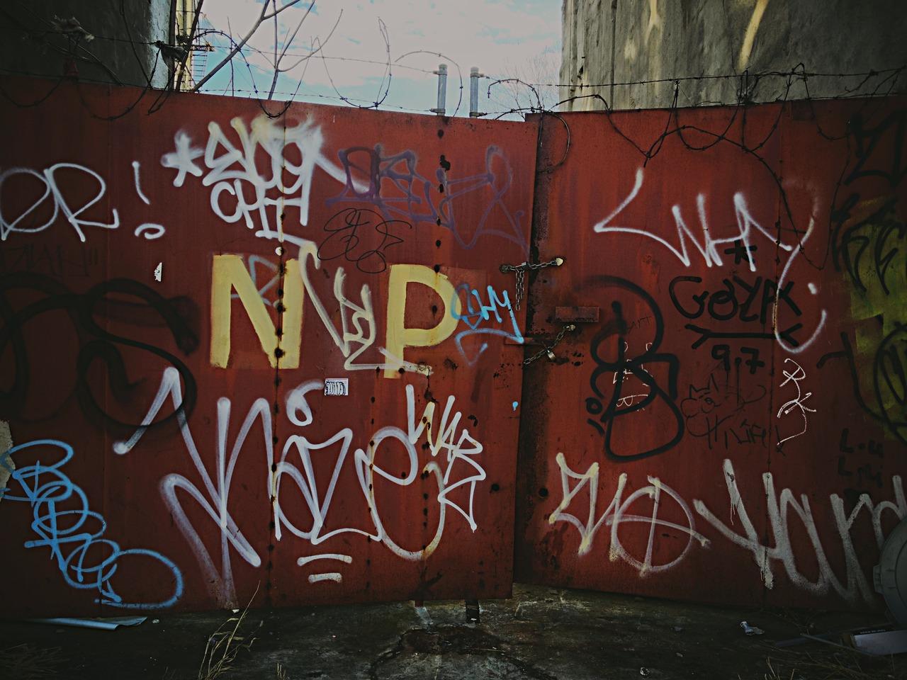 Tag Gate - #peppersearching #pepper #graffiti
