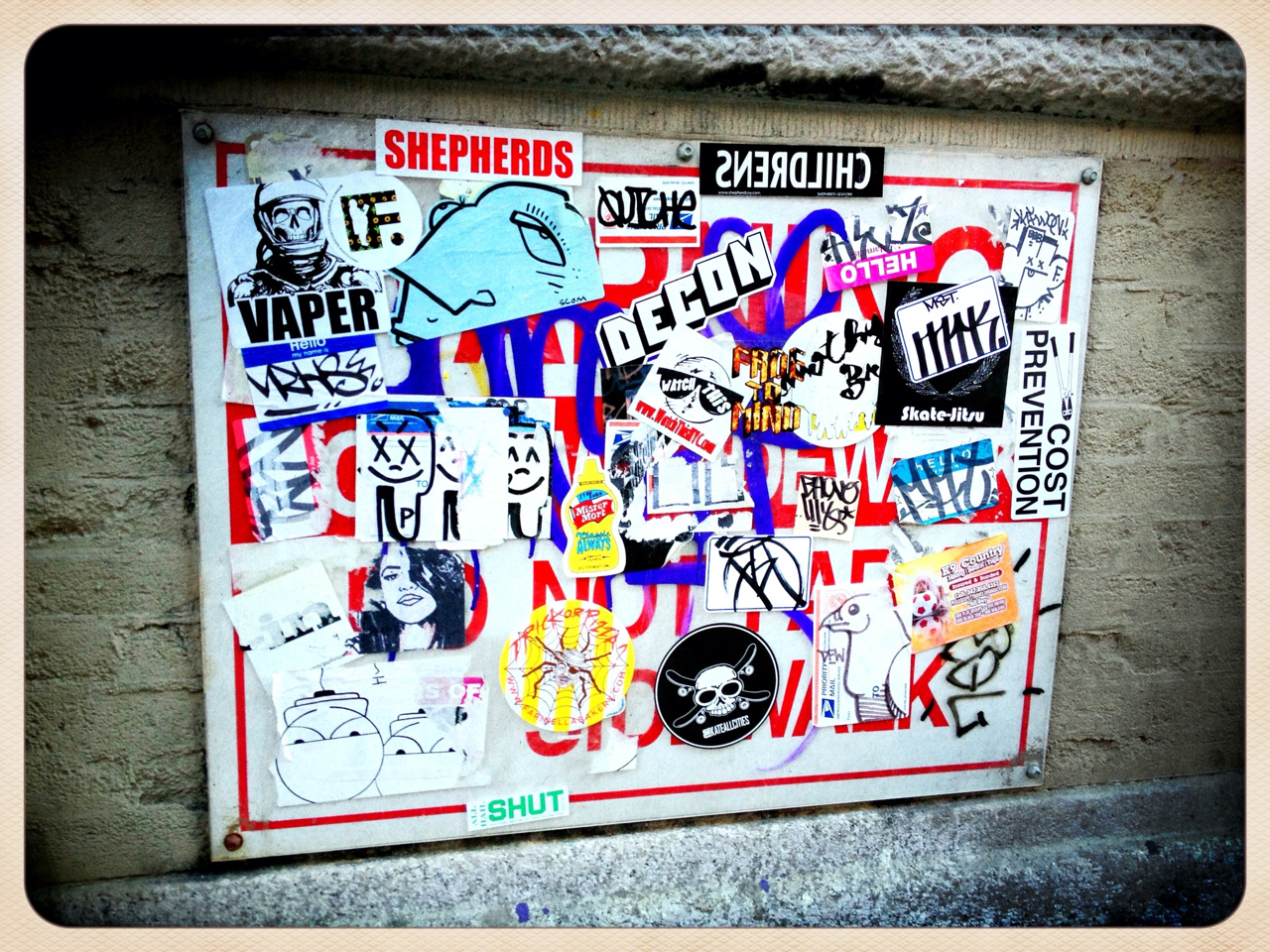 Stickers - #peppersearch #pepper #graffiti #nyc #soho