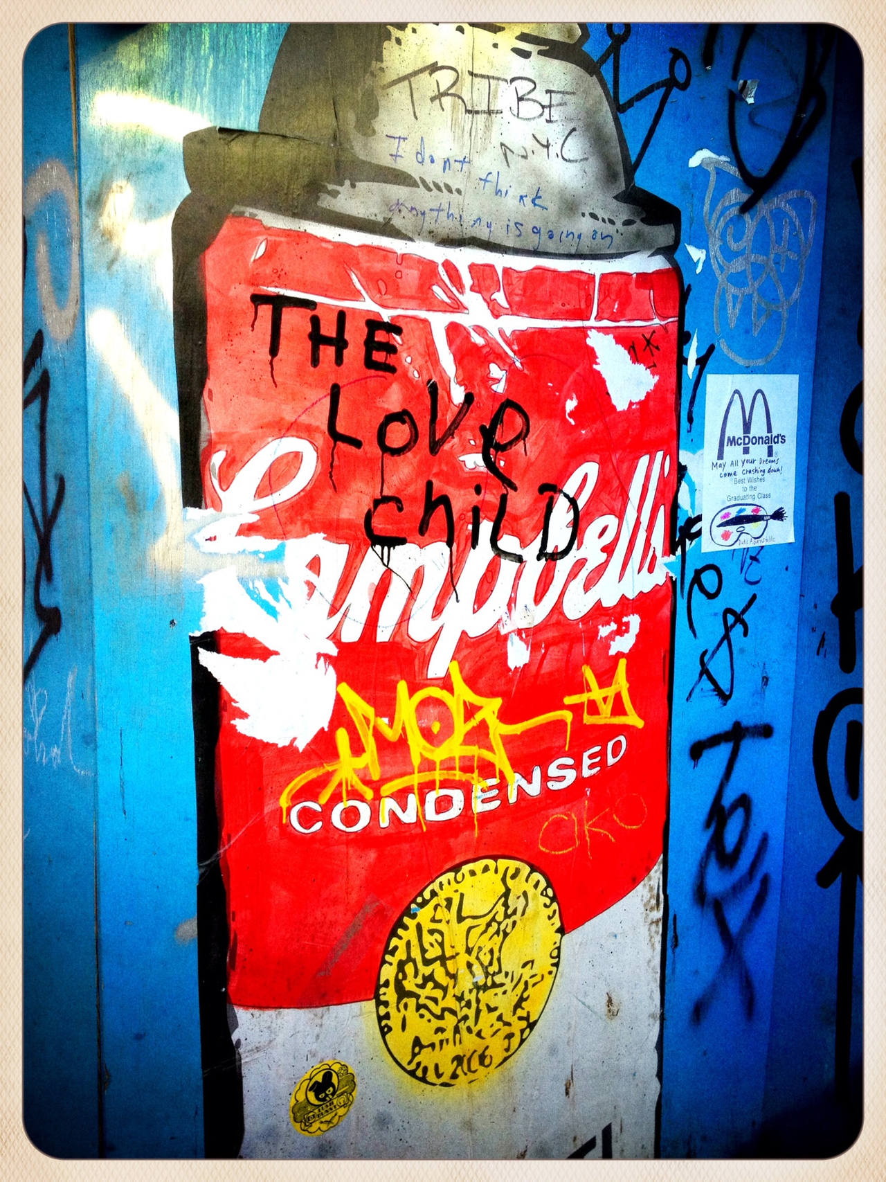 Red can - #peppersearch #pepper #graffiti #nyc #soho #redcan #pop