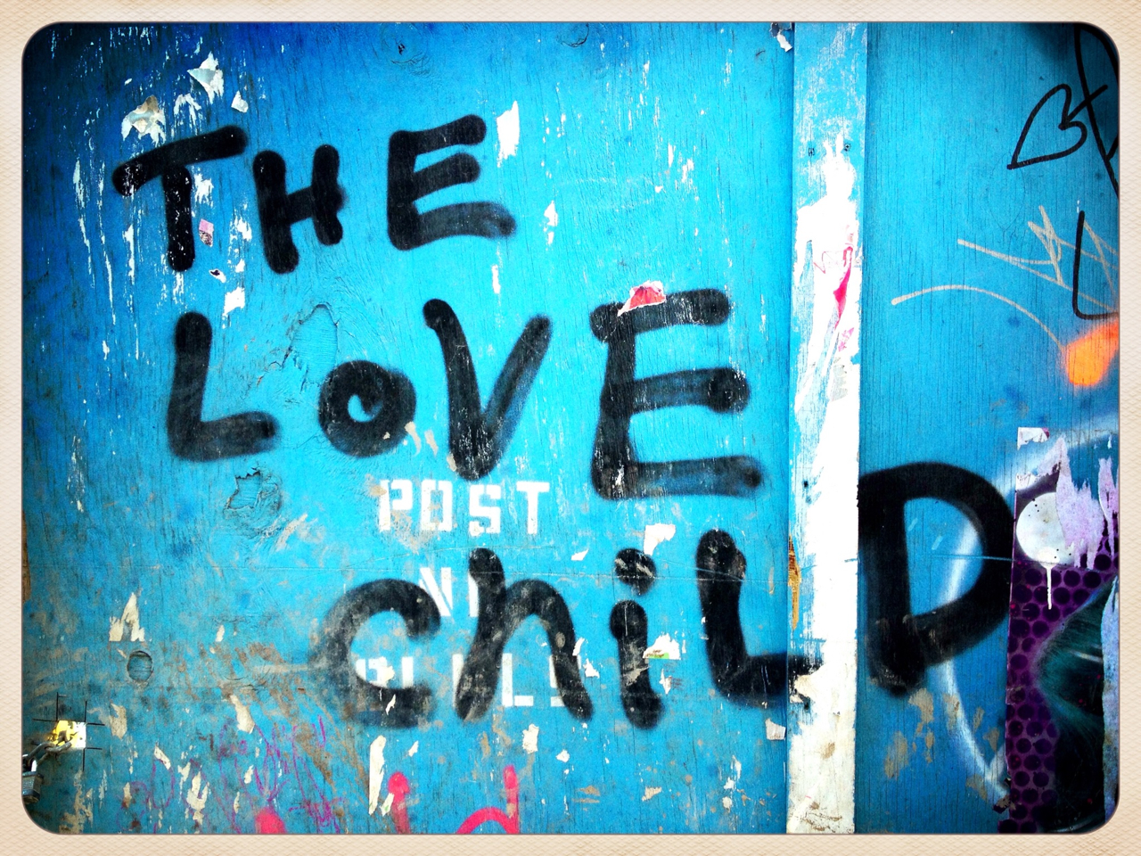 The Love Child - #peppersearch #pepper #graffiti #nyc #soho