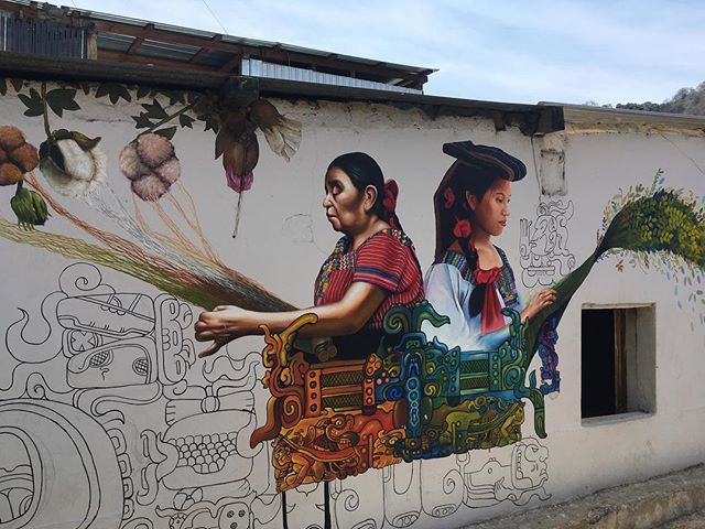 More beautiful Murals from San Juan La Laguna and an amazing concert by @tzutukan Balam Ajpu
