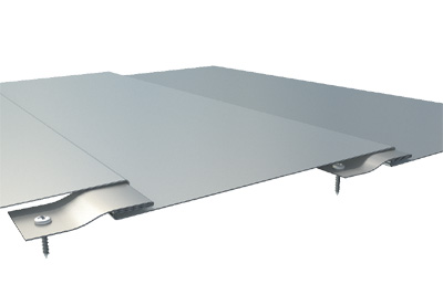Flatlock Panel System Longitudinal Flat Seams