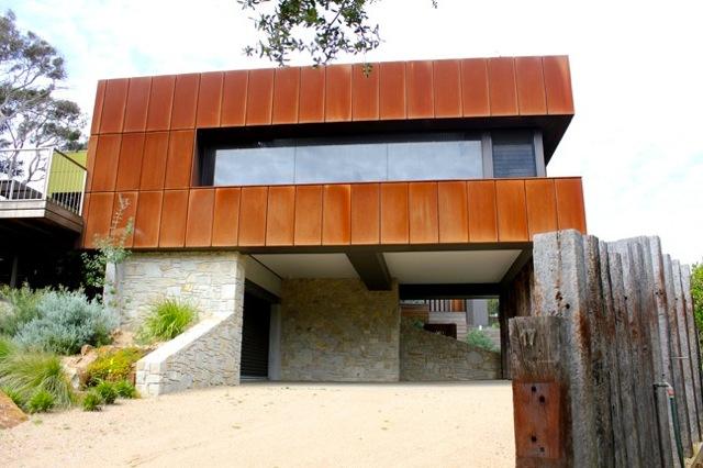 Corten Steel Rusted Wall Cladding Panels