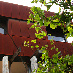 MORNINGTON PENINSULA  CASSETTE PANELS - CORTEN A