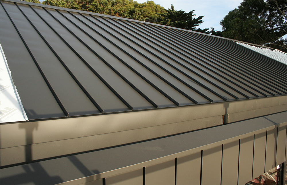 Aluminium Cliptray Roof 01