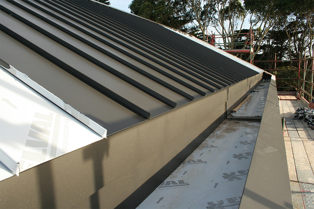 Cliptray Aluminium Roofing Mornington