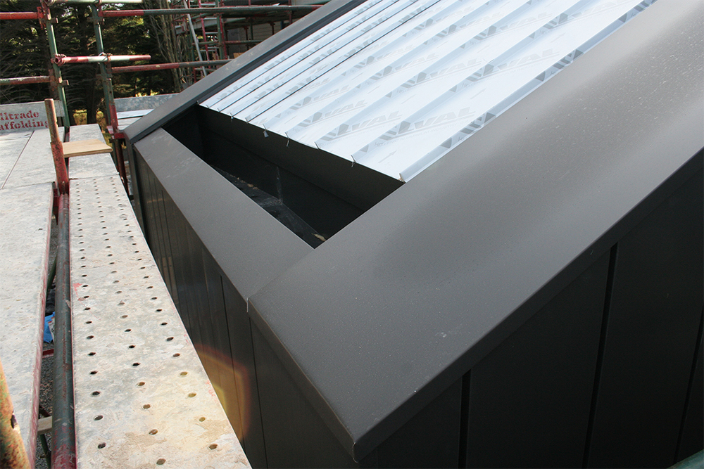 Aluminium Cliptray Roof Flashings