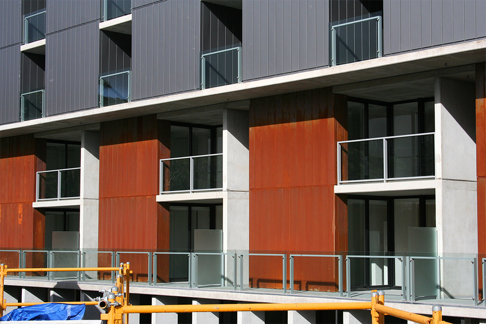 Hank Dye - Corten A Express Panel Cladding