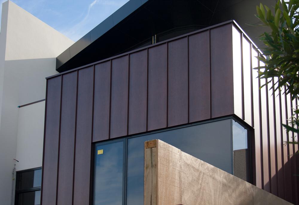 Standing Seam Antique Copper Wall Cladding Architectural - Architectural cladding