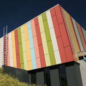 RINGWOOD PRIMARY - CASSETTE PANELS - POWDER COATED ALUMINIUM