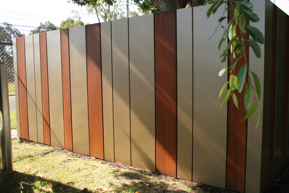 Rusted Corten Panels