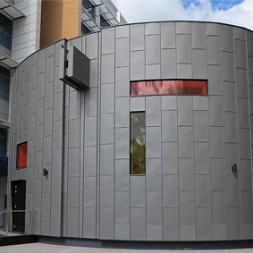 THE ALFRED HOSPITAL - CLIPTRAY 25 PANELS - VM ZINC QUARTZ