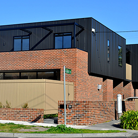 Victoria Road, Hawthorn east VIC   PVDF Satin Black Aluminium - single-lock