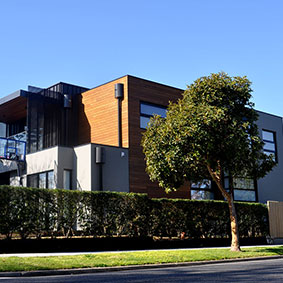Columba St, Balwyn North VIC PVDF Satin Black Aluminium - Cliptray 48