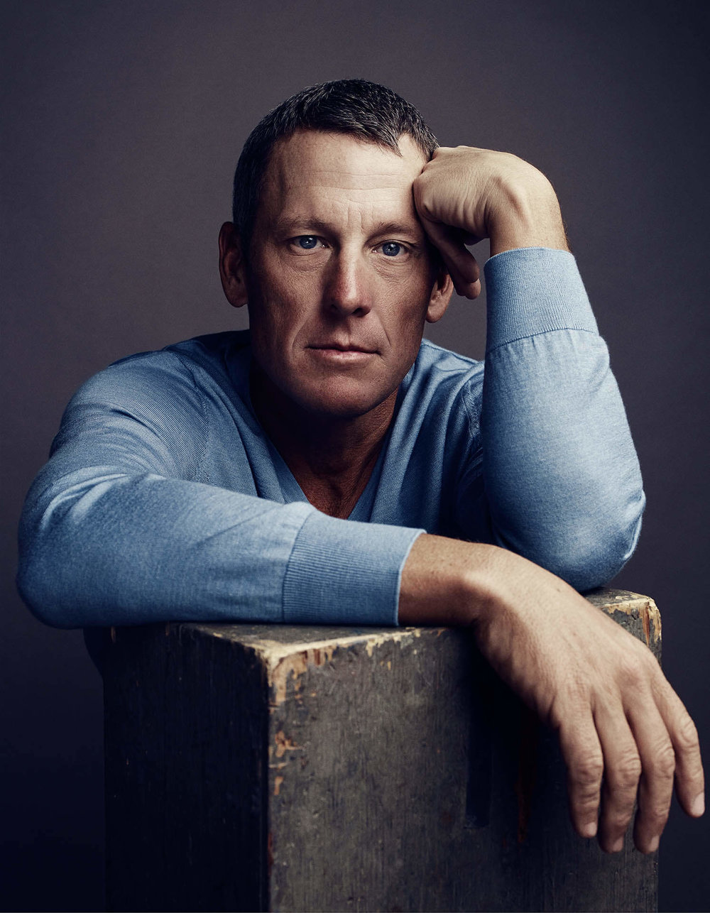 Lance Armstrong, 2014, for Esquire Magazine