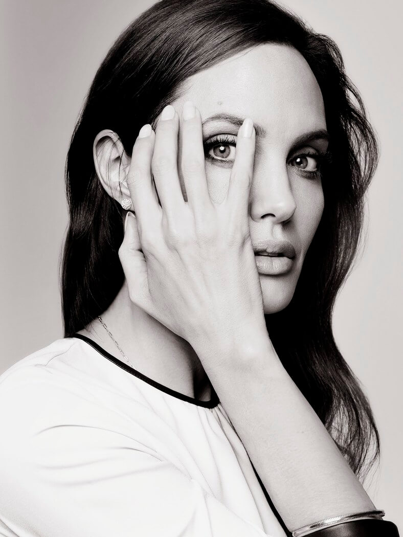 Learn more about Joe's Hollywood Reporter shoot with Angelina Jolie here