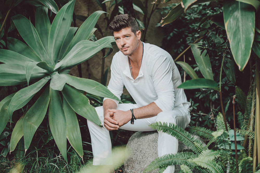 Robin Thicke for  The New York Times , 2015