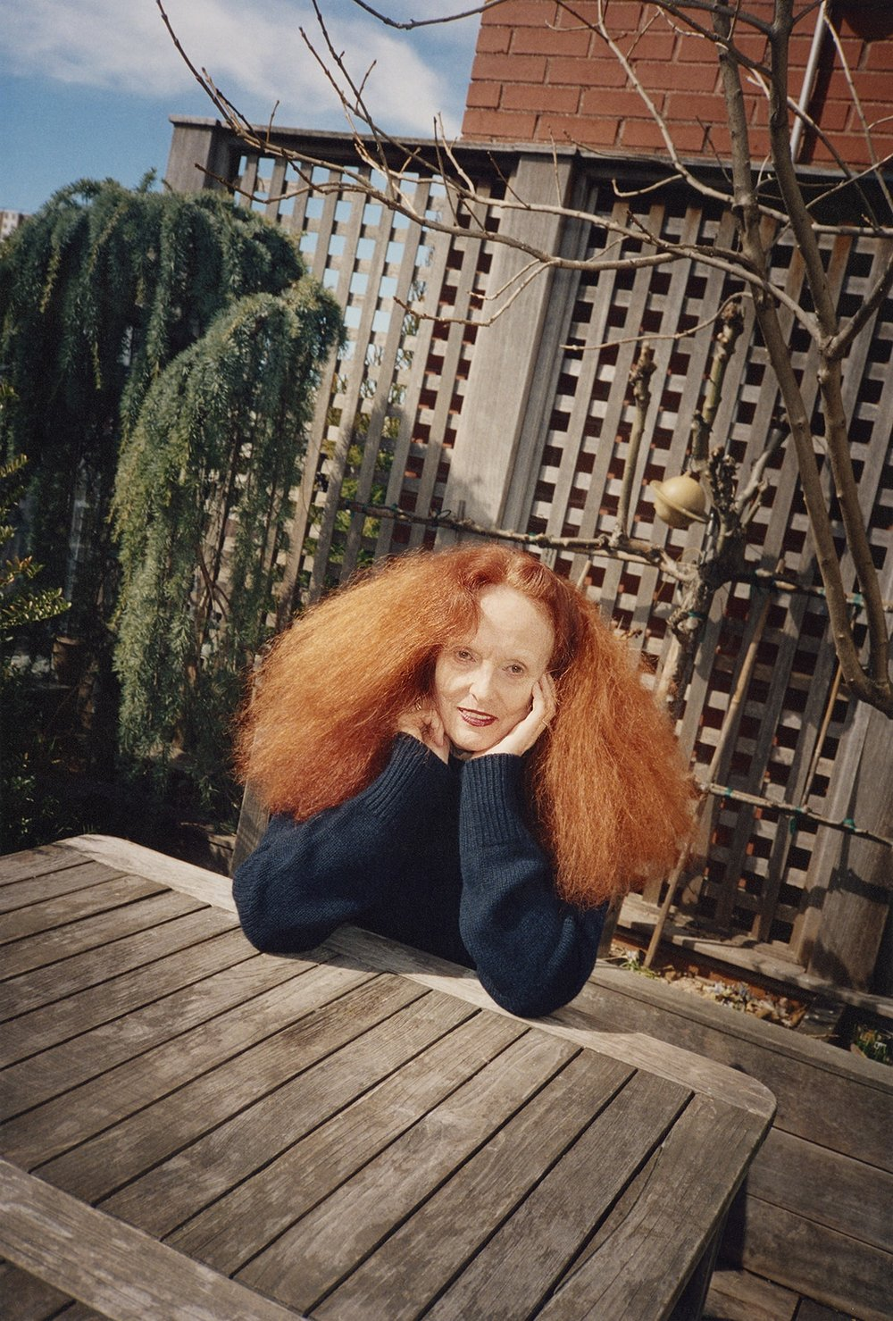 Grace Coddington for  Le Magazine du Monde , 2016