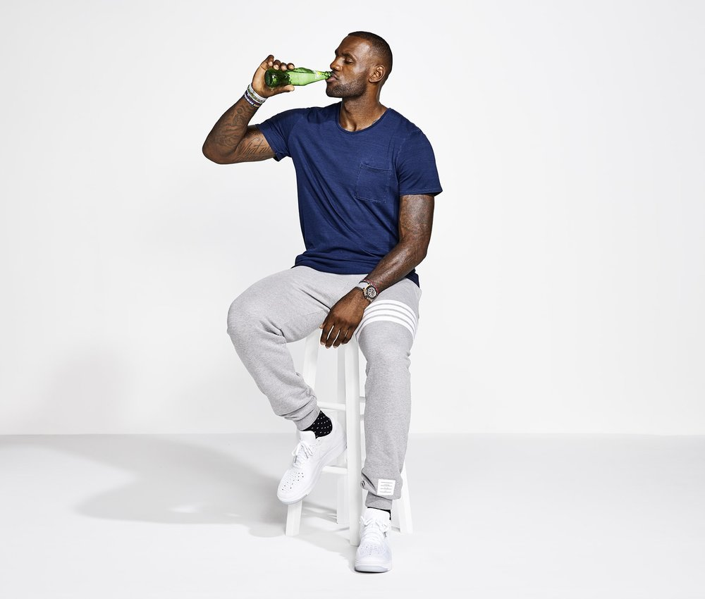 LeBron James for Sprites #WannaSprite 2016 campaign