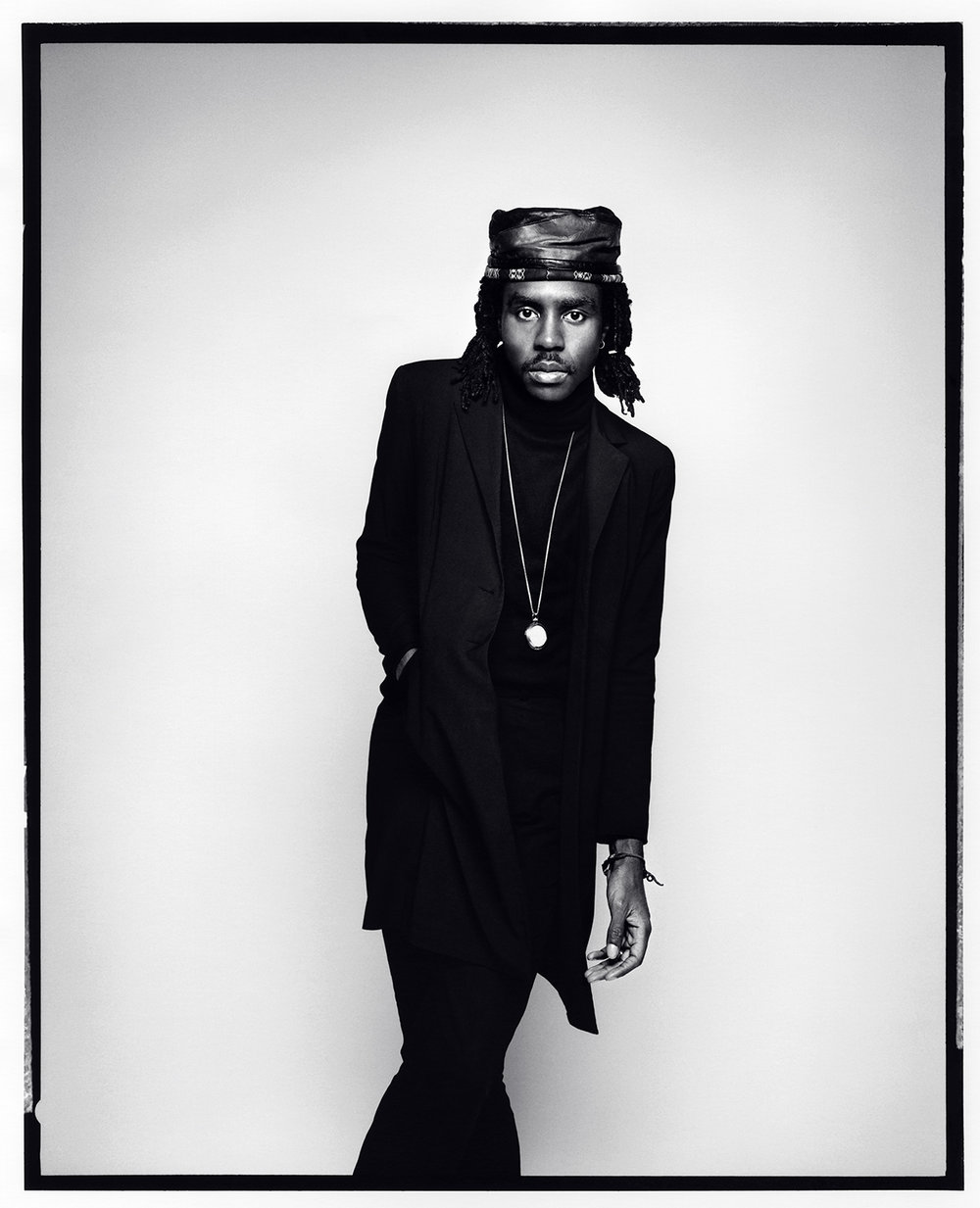 Dev Hynes (Blood Orange), 2014, for  The New Yorker