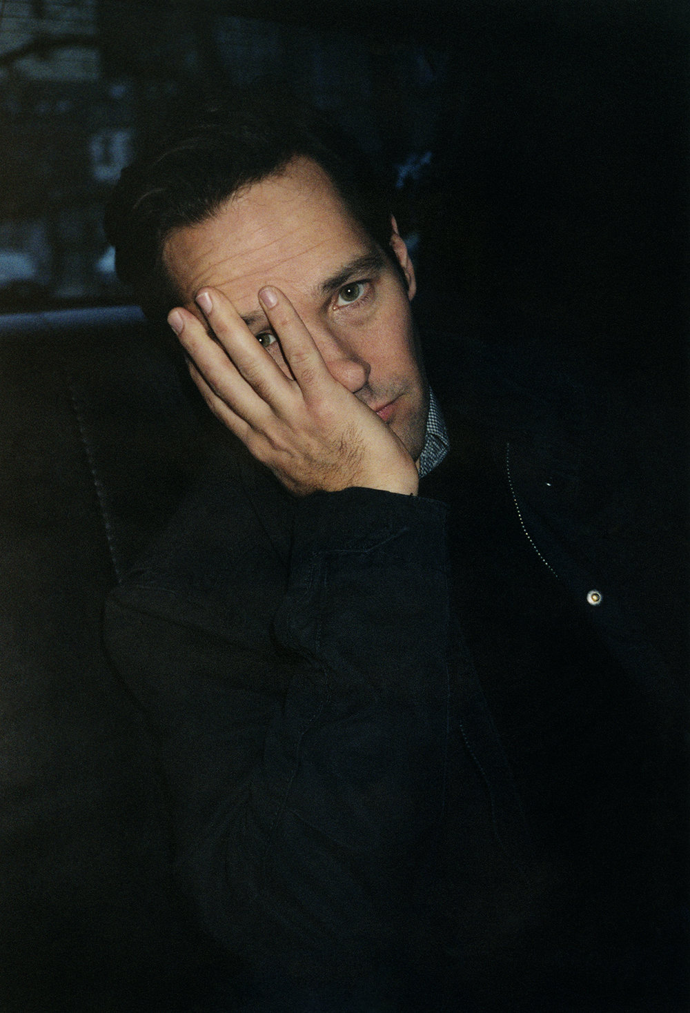 Paul Rudd, 2010, in Greenwich Village for  W Magazine