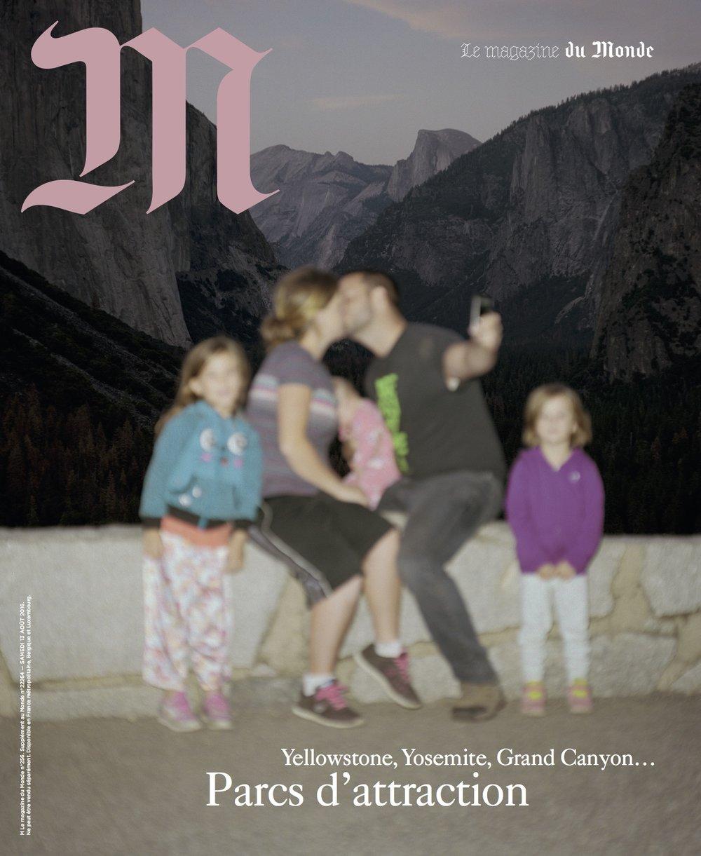 Yosemite for M Le magazine du Monde, 2016