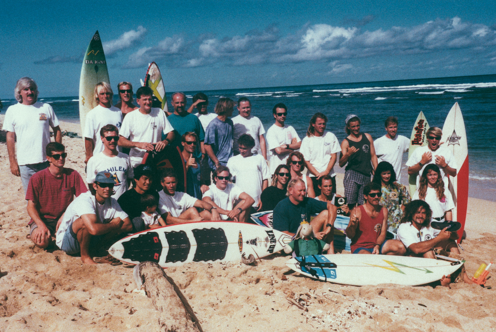 The first international conference on the North Shore of Hawaii in 1993.