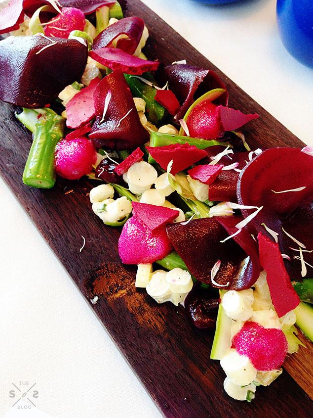 No.4 Blake Street beet salad