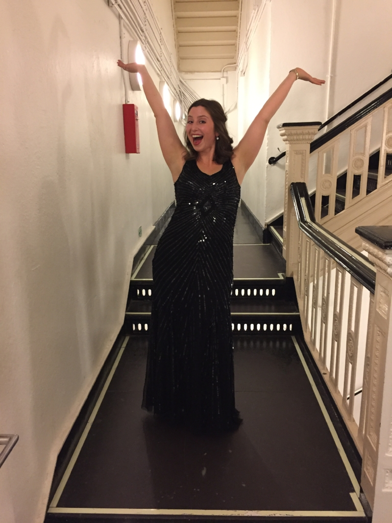 Alexa backstage at Carnegie Hall
