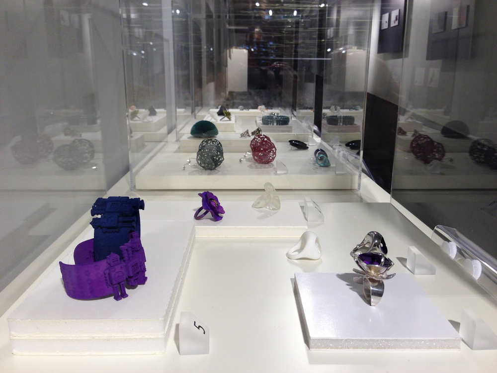 """Around the future: 3D printing for jewellery"" Exhibition at Vicenzaoro"