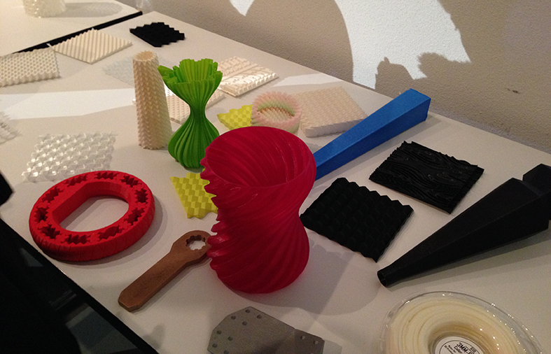 Examples of 3D prints