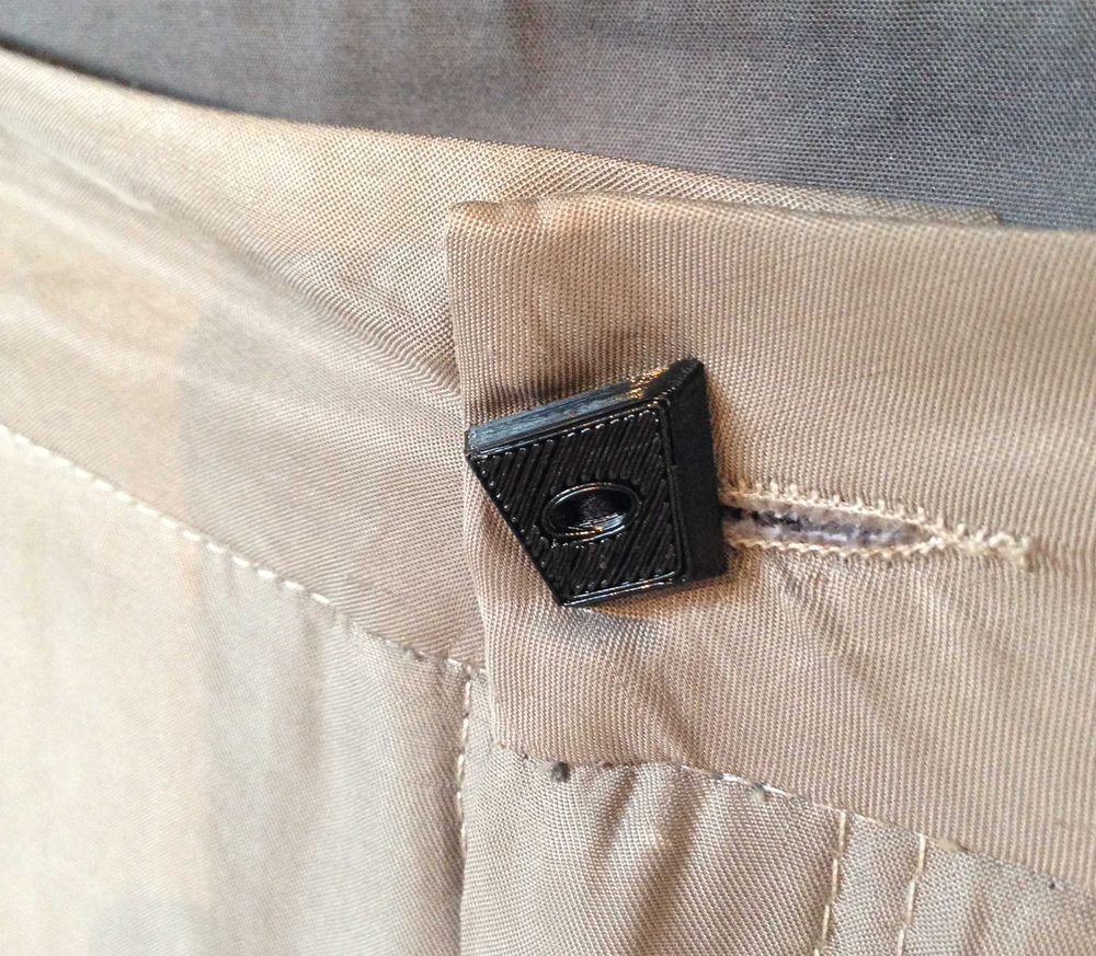 3D printed trouser button by [ digimorphé ]