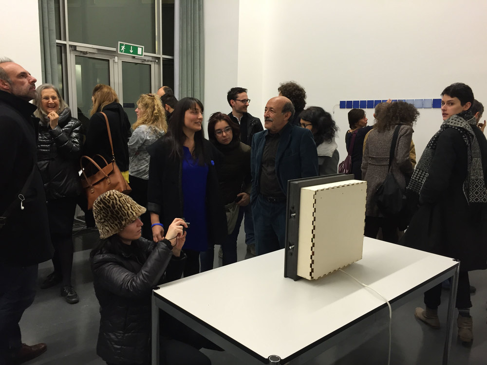 "Opening of the exhibition ""Re-programmed art"""