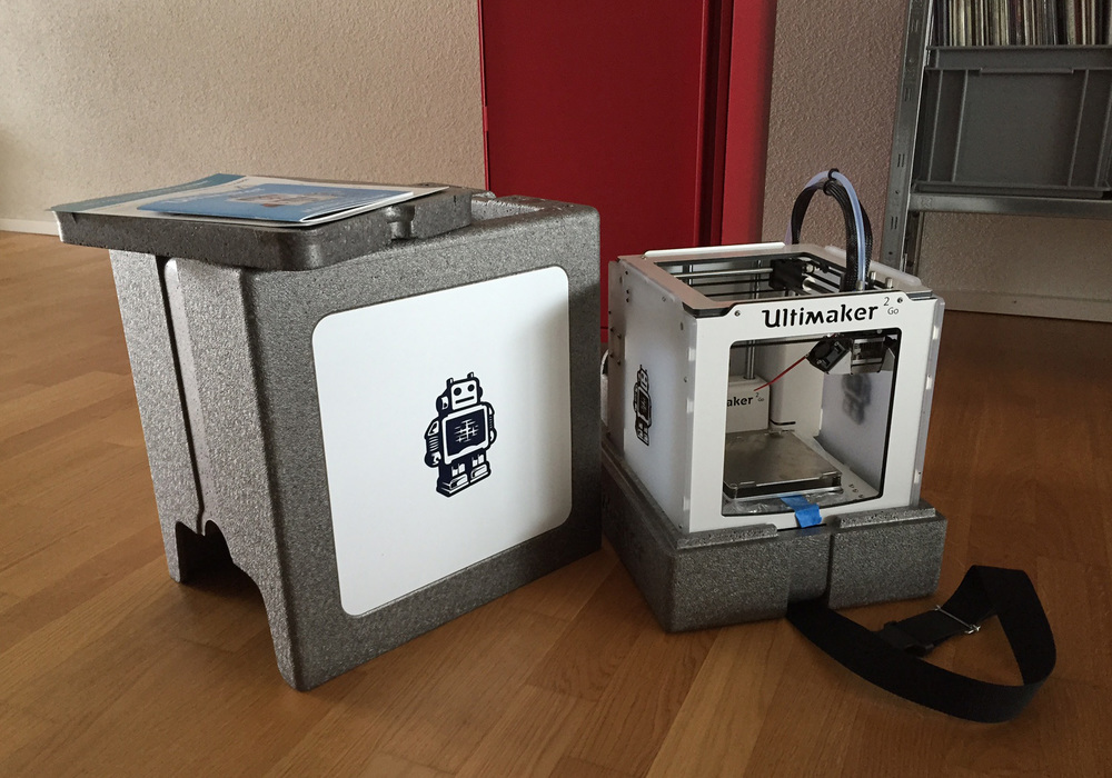 Unboxing of my new Ultimaker 2Go