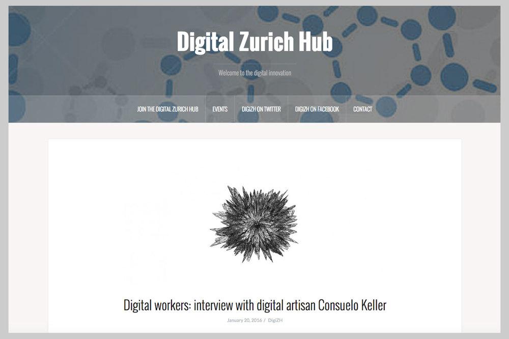 Digital Zurich Hub, 20-1-2016